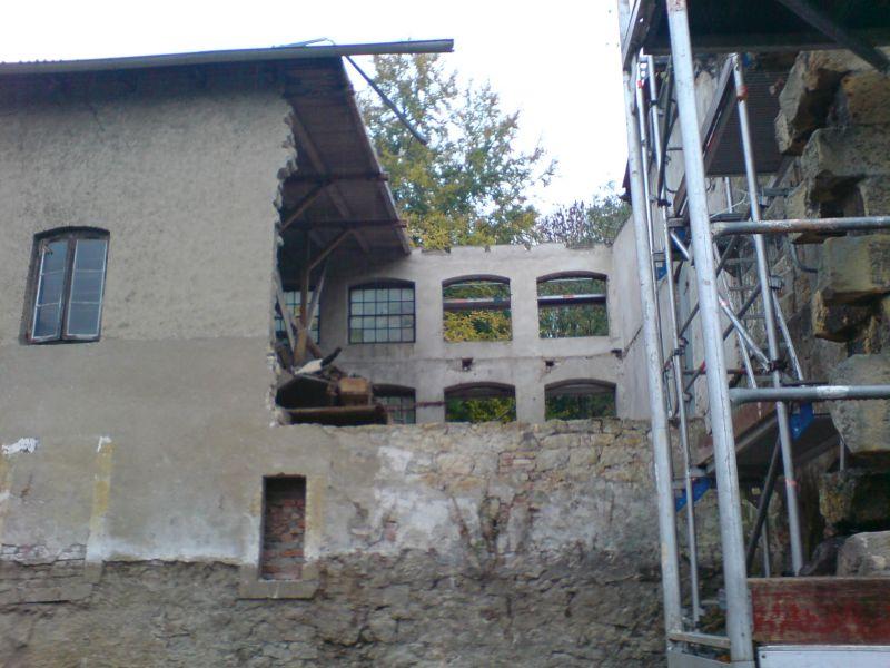 Ehemalige Papiermühle von der Seite